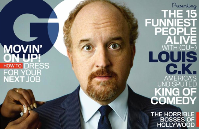 Louis C.K. GQ cover