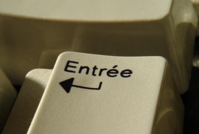 entree a la clavier
