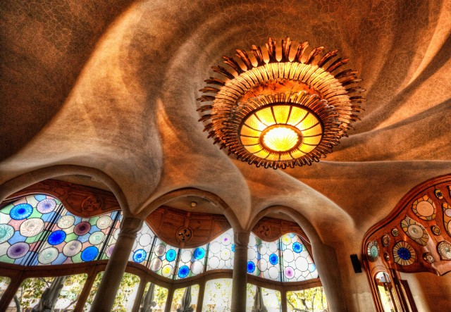 interior of Gaudi house