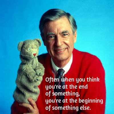 Get Over The Hump Day Inspiration Mr Rogers Talk Foreign To Me