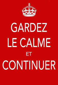 french keep calm and carry on
