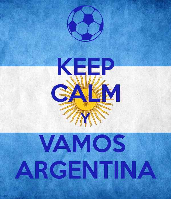 Keep Calm Y Vamos Argentina