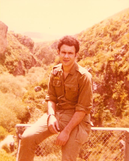 Aba in the army