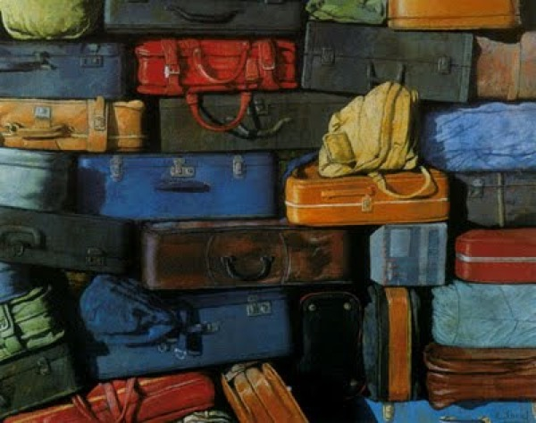Cristóbal Toral - Colorful Suitcases