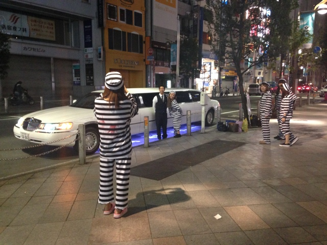 3am halloween in shinjuku