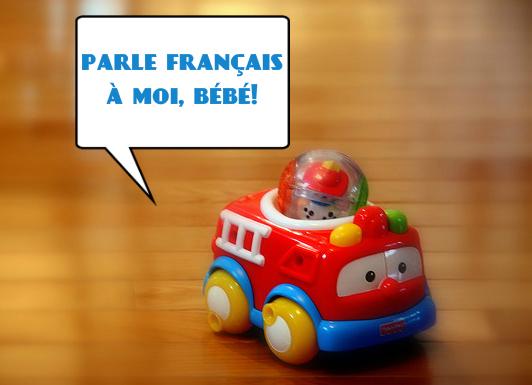 """fr-engine says, """"parle français à moi, bébé!"""""""