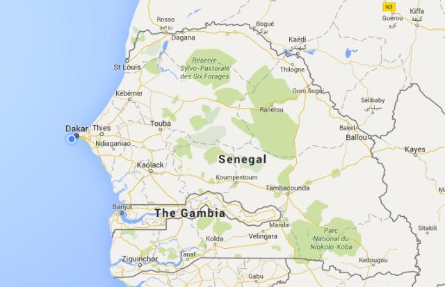 senegal_map