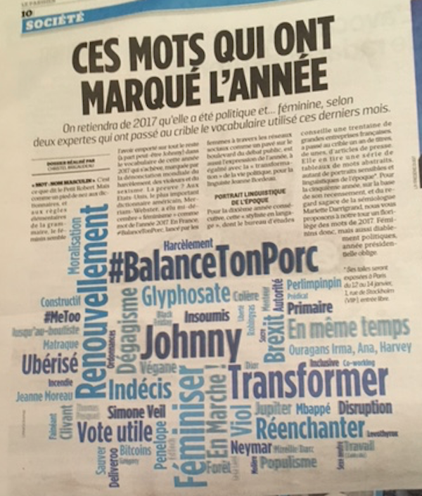 french word cloud