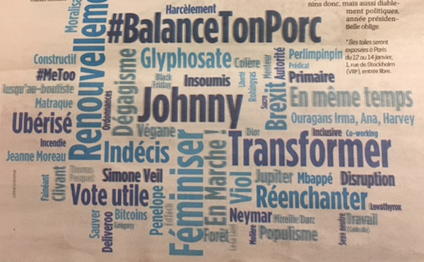 french word of the year word cloud