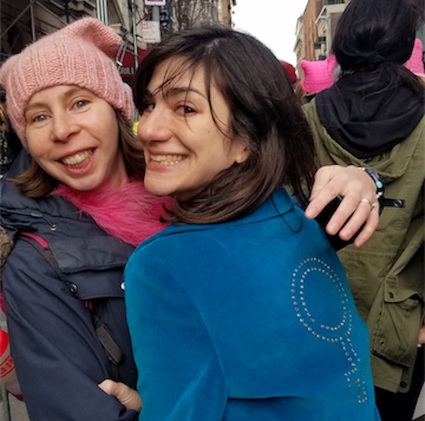 womens march nyc 2