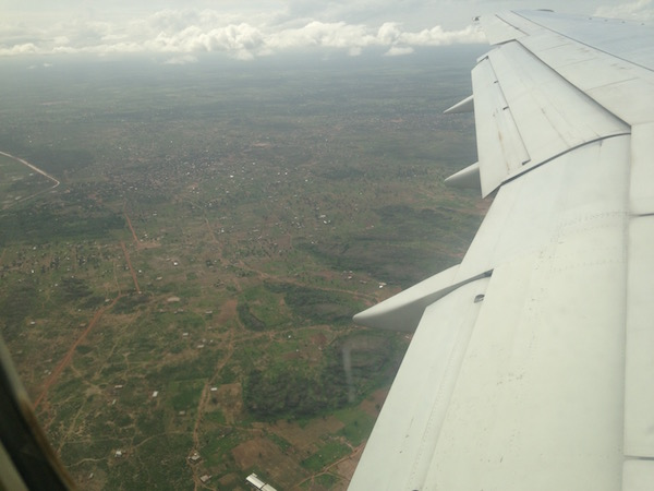 bamako from the air