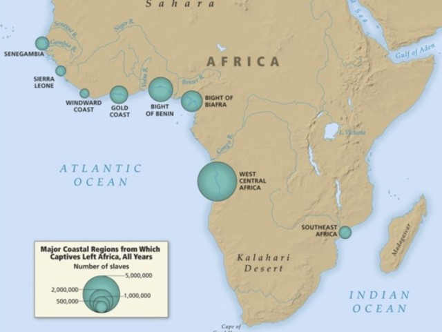 west africa slave ports